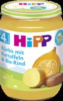 Babymenü Kürbis mit Kartoffeln & Bio-Rind nach dem 4. Monat