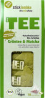 Grüner Tee mit 15% Matcha, 18 x 1,75 g