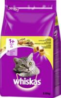 Whiskas Trockenfutter für Katzen, Adult 1+, Huhn