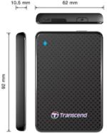 Transcend 512GB Ext. Solid State Drive ESD400K USB 3.0 SSD-Festplatte NEU OVP