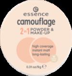 Make-up und Gesichtspuder camouflage 2in1 powder & make-up ivory beige 10