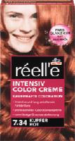 Haarfarbe Intensiv Color Creme Kupferrot 7.34