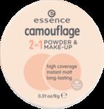 Make-up und Gesichtspuder camouflage 2in1 powder & make-up honey beige 40