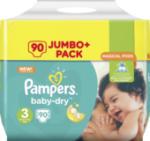 Windeln Baby-Dry, Größe 3 Midi, 5-9 kg, Jumbo+ Pack, 90 St