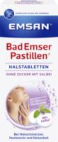 Bad Emser Pastillen Halstabletten mit Salbei