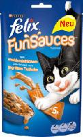 Katzensnack FunSauces mit Truthahn Multipack 5x15g
