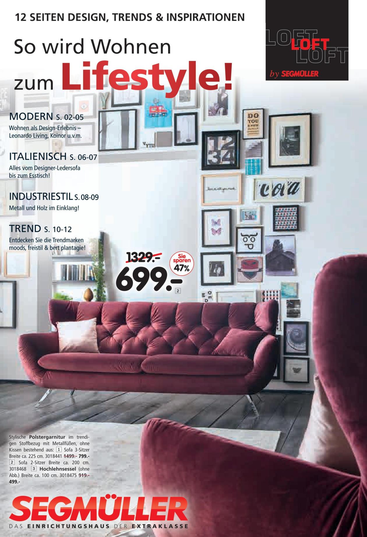 Segmuller Weiterstadt Sofas ~ Möbel Inspiration und Innenraum Ideen