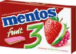 Erdbeere - Grüner Apfel - Himbeere Kaugummi zuckerfrei, 14 Stück