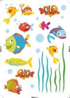 Dekosticker Fische