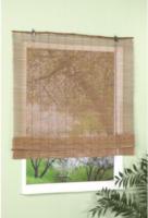 Raffrollo Bambus, ca. 60 x 160 cm, schoko