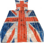 Microfaser-Bettwäsche Union Jack