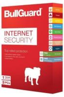 BullGuard Internet Security - 3 PC, 1 Jahr