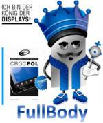 Crocfol Premium Displayschutz FULLBODY iPhone 5S NEU OVP transparent glasklar