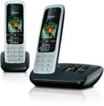 Gigaset C430A Duo schwarz mit AB ECO-DECT 2 Mobilteile vom Fachhändler NEU & OVP