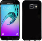 PEDEA Soft TPU Case Glatt für Samsung Galaxy A3 2016 Schwarz Kunststoff NEU OVP