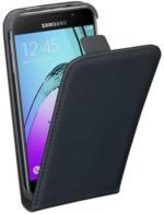PEDEA Flip Cover Classic für Samsung Galaxy A3 (2016), Schwarz,Schutzhülle,NEU