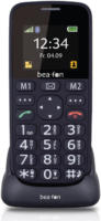 Bea-fon SL140 Schwarz Mobiltelefon Bluetooth SOS-Notruftaste Farbdisplay NEU OVP