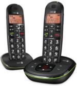 doro PhoneEasy 105wr Duo schwarz NEU OVP Anrufbeantworter große  Zeichen