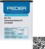 Pedea Akku 2100 mAh Li-ion für Samsung Galaxy S3 Ersatzakku NEU OVP