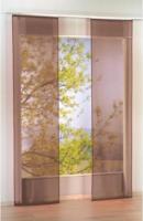 Schiebevorhang Flash, ca. 60 x 245 cm, taupe