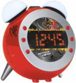 UR 140 RO Uhrenradio rot