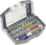 Bit-Box mit praktischem Gürtelclip, 32-teilig