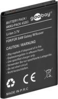 Goobay Akku 3,7V, 1450mAh Li-Ion für Samsung Schutzelektronik integriert NEU OVP