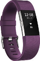 Fitnesstracker - Fitbit Charge 2 Large, Activity Tracker, 165-206 mm, Lila/Silber