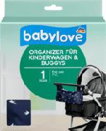 Organizer für Kinderwagen & Buggys, blau