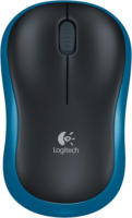 M 185 Wireless Mouse Kabellose Maus schwarz/blau