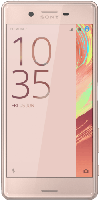 Sony - Smartphones - Sony Xperia X Performance 32 GB Rosegold