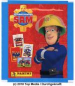 Top Media / Durchgeknallt - Feuerwehrmann Sam Sammelsticker