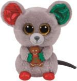 TY - Beanie Boo`s Glubschi`s - Weihnachtsmaus Mac - 15cm
