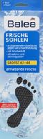 Frischesohlen - schwarz - Größe: 42-44, 8 Paar