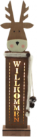 LED-Lichtsäule Rentier, Höhe: 64 cm