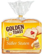 Golden Toast Süßer Stuten oder Harry Feiner Stuten