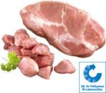 Frischer Schweinebraten oder Schweinegulasch