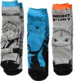 3 Paar DRAGONS Socken