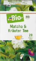 Matcha & Kräuter Tee 20x2g
