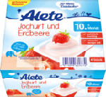 Joghurtbecher Joghurt und Erdbeere ab 10. Monat, 4x100g