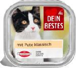 Nassfutter für Katzen mit Pute, klassisch