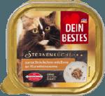 Sternenküche Nassfutter für Katzen, mit Ente an Karotten-Creme