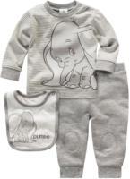 Newborn Dumbo Shirt, Jogginghose und Lätzchen