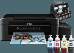 Multifunktionsdrucker - Epson EcoTank ET-2500 Epson Micro Piezo™-Druckkopf 3-in-1 Tinten-Multifunktionsgerät WLAN Netzwerkfähig