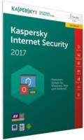 Kaspersky Internet Security 2017 Upgrade 1 Jahr, 3 PCs