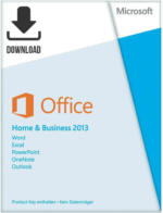 Microsoft Office 2013 Home & Business ESD, Download Software inkl. Lizenz