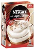 NESCAFÉ Cappuccino entkoffeiniert