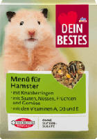 Hauptfutter - Menü für Hamster