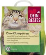 Katzenstreu, Öko-Streu klumpend
