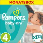 Windeln Baby-Dry Größe 4 Maxi, 8-16 kg, MonatsBox